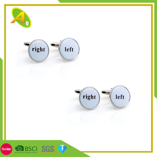 Jewelry Lapel Pin Promotional Cuff Links (025)