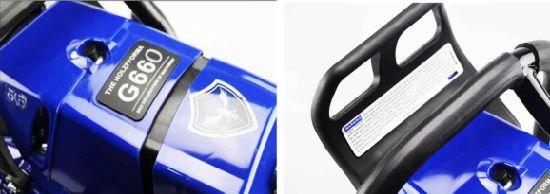 China Farmertec Holzfforma Blue Thunder G660 Gasoline Chainsaw 92cc