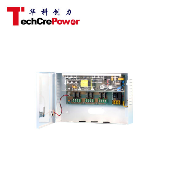 6 Channels Universal 12V CCTV Power Supply pictures & photos
