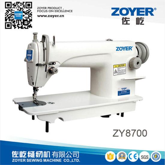 Zy8700 Single Needle Lockstitch Sewing Machine