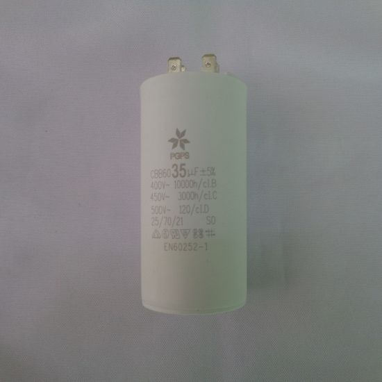 CBB60 Motor Run Capacitor 35uf Water Pump Start Capacitor for Home Appliance