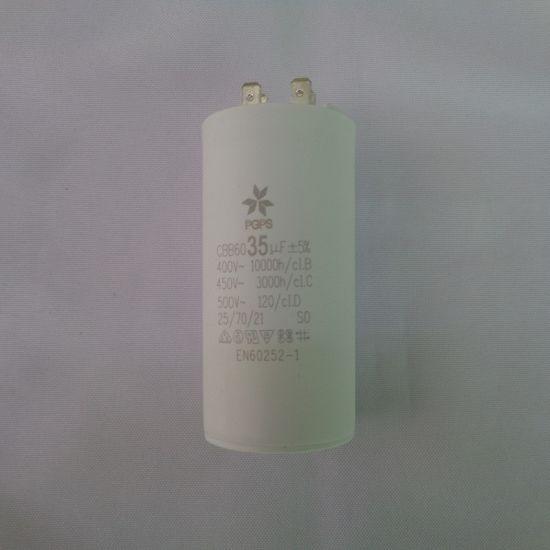 CBB60 Motor Run Capacitor 35uf Water Pump Start Capacitor for Home Appliance