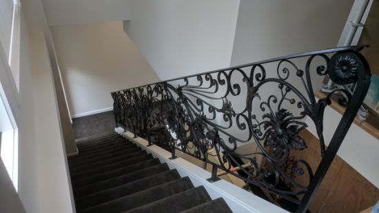 High Quality Customized Hot Galvanized Customized Stair Railing Stair Handrail