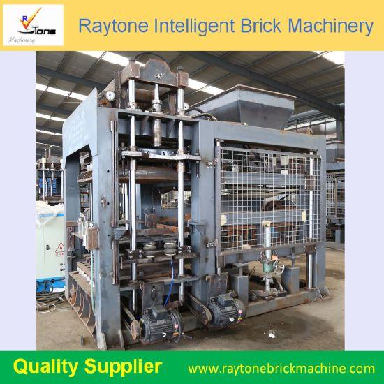 Qt8-15 Hydraulic Automatic Hollow Block Brick Making Machine