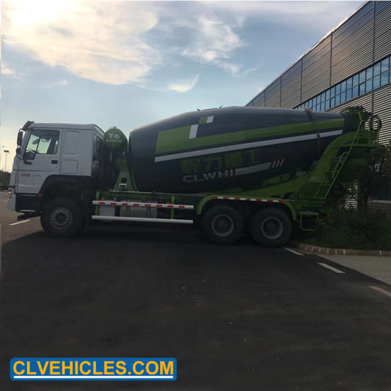 Shacman 6X4 10 Cubic Meters Concrete Mixing Vehicle pictures & photos