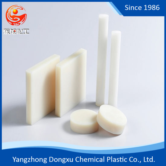 Free Sample Good Electrical Insulating Plastic Engineering Polyamide Nylon PA6 Rod pictures & photos