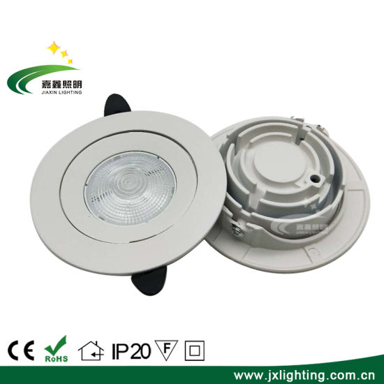 Ce 10W Good Price Adjustable LED Panel Ceiling Down Light Aluminum pictures & photos