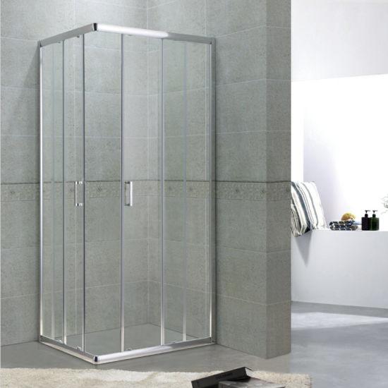Square Shower Enclosures Aluminium Design Toughened Glass Partition For Bathroom China Square Shower Room Toughened Glass Partition For Bathroom Made In China Com