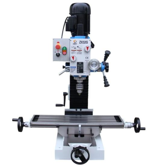 ZX32G Mini Benchtop Drilling Milling Machine R8
