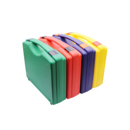 Equipment Hot Sale Black Simple Plastic Tool Case with Foam Inside
