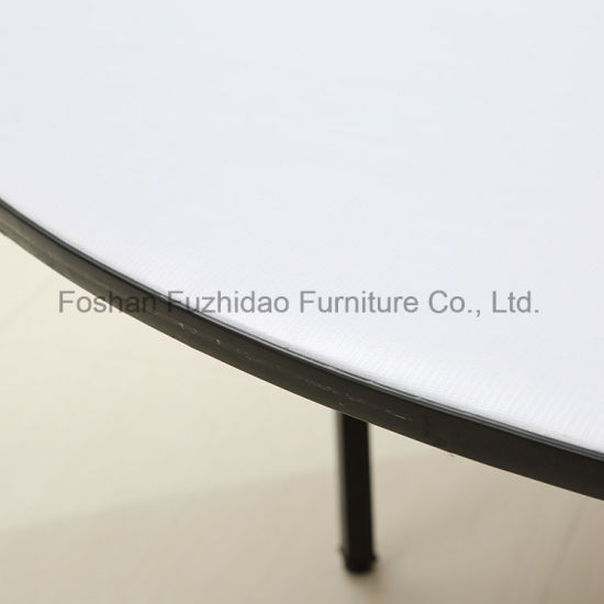 Folding Round Table Top.China Round Shape Metal Folding Dining Table With Pvc Table Top Ft