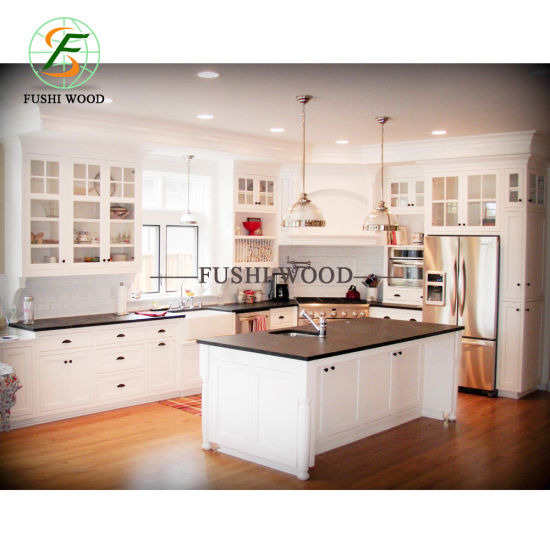Wholesale MDF/MFC/Plywood Particle Board Modern Kitchen Cabinets