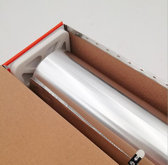 Ce Certificated Kitchen Aluminum Foil Roll for Food Packing