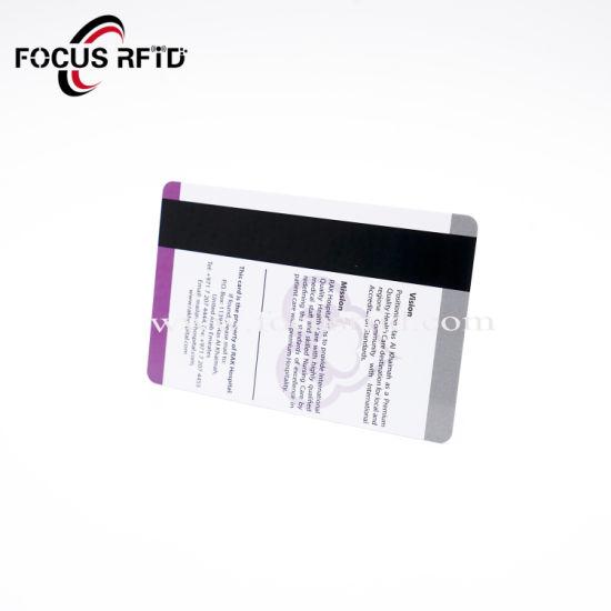 China Sle4442/Sle4428 Dual Chip RFID Card Plastic RFID Chip