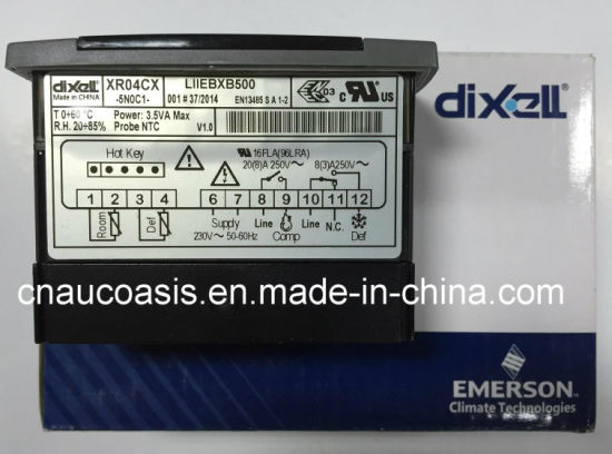 Xr04cx-5n0c1 Dixell Temperature Controller for Red Display