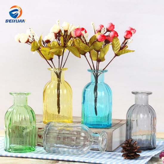 Flower Glass Vase Flower Hydroponic Plant Decoration Table Ornaments pictures & photos