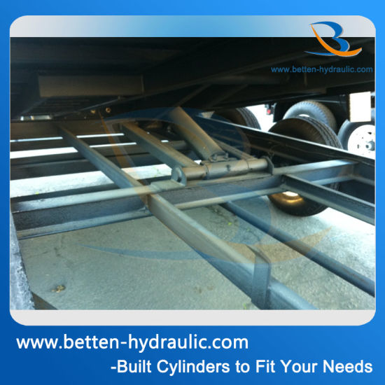 Dump Truck Lift Telescoping Hydraulic Cylinder pictures & photos