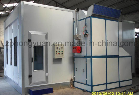 Car Auto Paint Spray Booths with Intake and Exhaust Fan