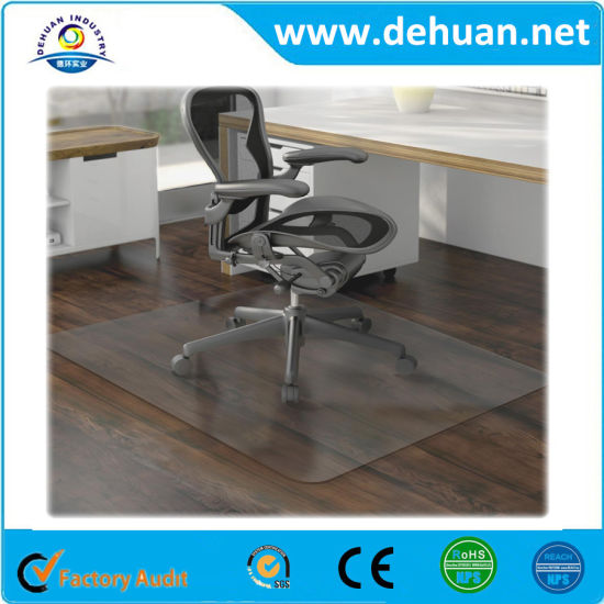 Pvc Custom Office Chair Mat Carpet For Ing