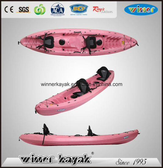 Winner Basic Double Seats PE Sot Not Inflatable Kayak