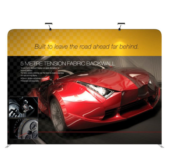 China Tension Fabric Portable Exhibition Stand Display Stand - Portable car show display stand