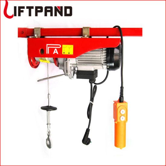 DIY Garage Lift Mirco Electric Winch Hoist in 1 Phase
