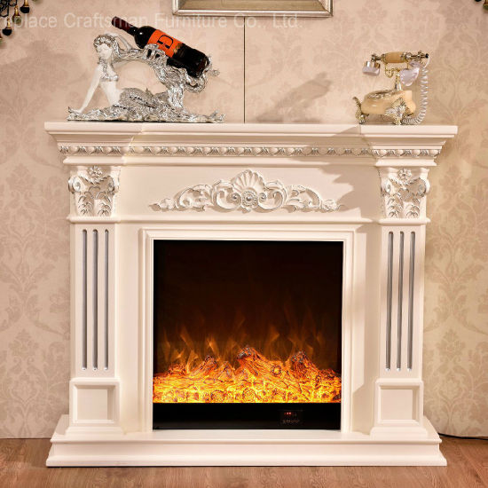 Ce Approved Home Furniture Wood European Style Electric Fireplace (328) pictures & photos