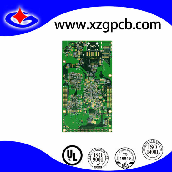 China 4 Layer PCB Circuit Board with Press-Fit Holes for GPS