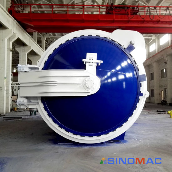 China Carbon Steel Autoclave For Building Glass Sn Bgf2650 China