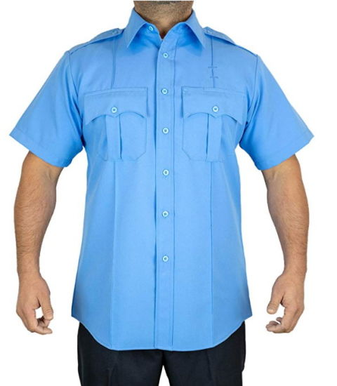 Wholesale Customized Unisex Industrial Protective Blue Security Work Shirt Uniform pictures & photos