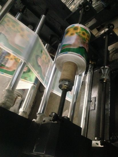 4 Color Flexo Printing Machine pictures & photos