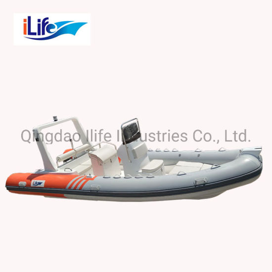 Ilife 1 2 mm PVC Hot Sale China Rib 6m Boat Used Rigid Inflatable Boats for  Sale