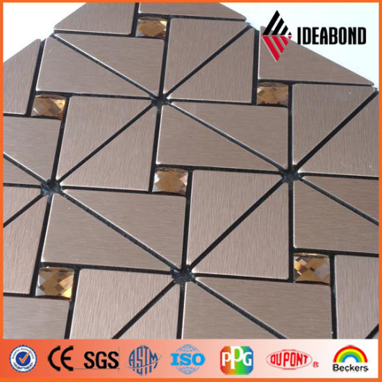 Ideabond Mosaic Prepainted Aluminium Coil (Brushed series) pictures & photos