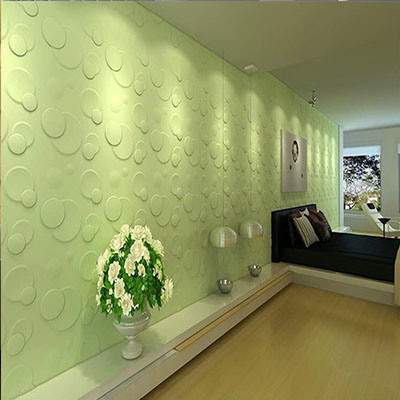 3D Wall Panels Paint Any Color with PVC Building Material