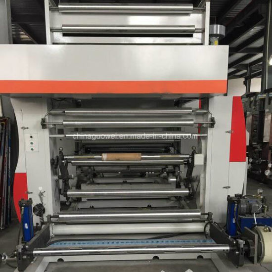 Gwasy-B1 8 Color Rotogravure Printing Machine for Plastic Film 130m/Min pictures & photos