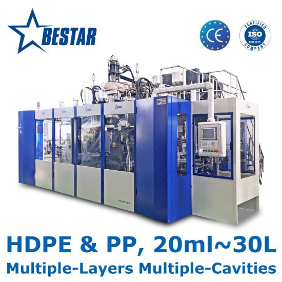 B25D-900 Bestar Automatic Blow Molding Machine for HDPE PP