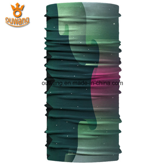 Fancy Mixed Color Unisex Short New Styles Polyester Neck Scarf pictures & photos