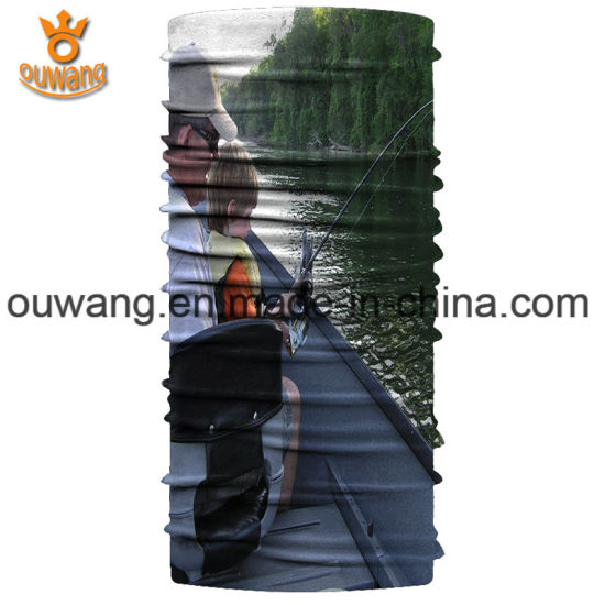 Factory Price Custom Logo Printed Hair Accessories Fashion Fishing Bandana pictures & photos