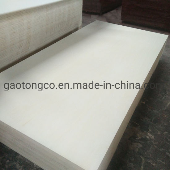 15mm 18mm Bb Grade Bleached Poplar Veneer Furniture Plywood with Carb Certificate