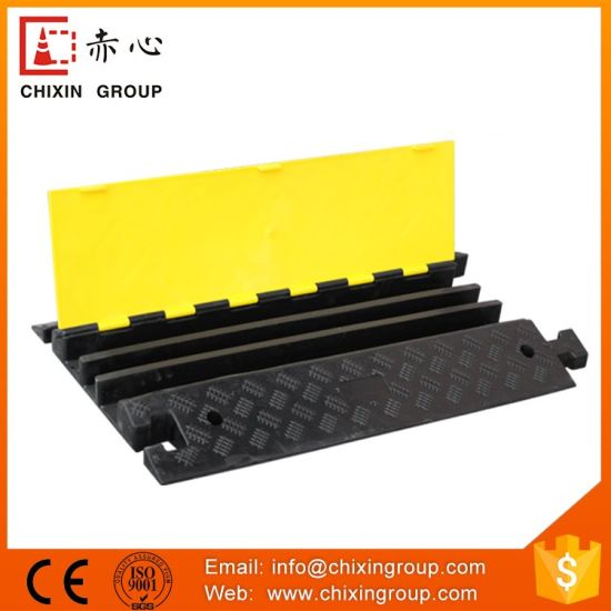 office cable protector. 1chaneel black office cable protector p