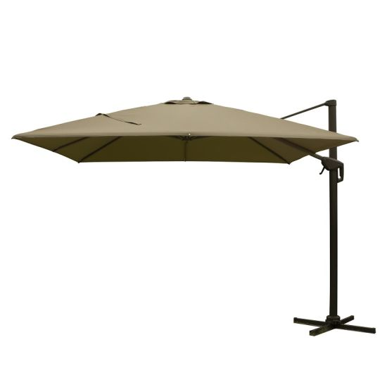 10*10FT Aluminum Roman Umbrella Offset Patio Umbrella
