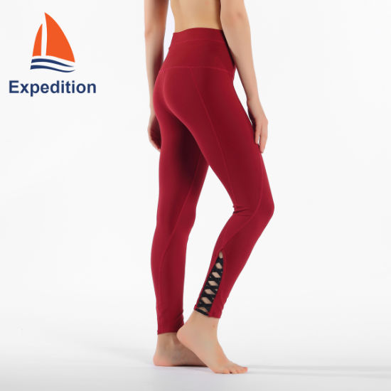 China Ladys Tight Yoga Pants For Exercise And Sports China Yoga Wear And Clothing Price
