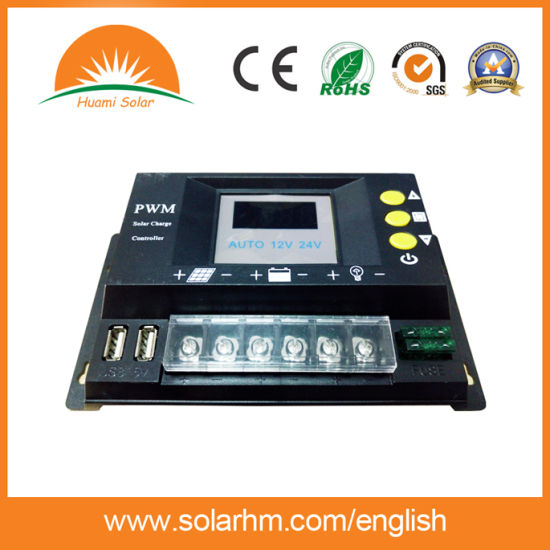Hot Sales LED Solar Charge Controller for Solar Power System pictures & photos