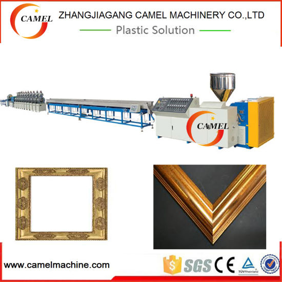 China Plastic Photo Frame Production Line/PS Frame Making Machine/PS ...