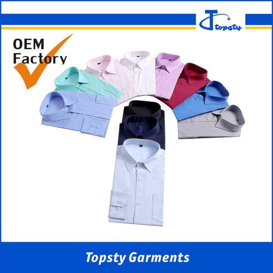 fa01c0a9791 China Wholesale Cheap Cotton Promotional Men Long Sleeve Shirts ...