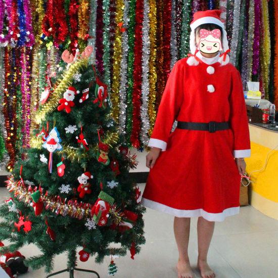 Woman Santa Dress Suit