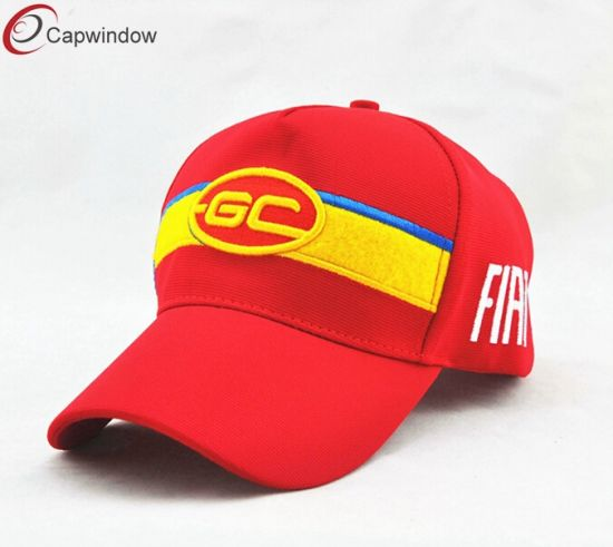 54b4540ff04 5 Panel Hat with Baseball Cap Style with Gold Embroidery pictures   photos
