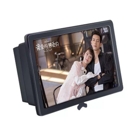 3D Screen Magnifier Mobile Phone Screen Amplifier for Watching Movies 10inch Phone Screen Magnifier