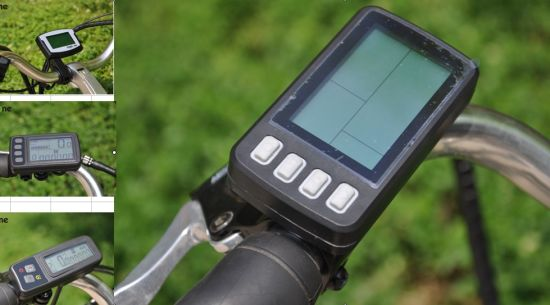 LCD/LED Display for Electric Bicycle (LCD/LED-S100/200/300/400) pictures & photos