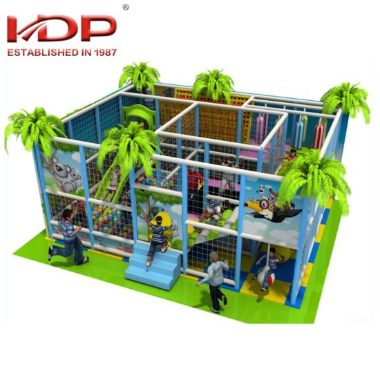 Eco-Friendly Kids Indoor Playground Jungle Gym Soft Play for Sale pictures & photos
